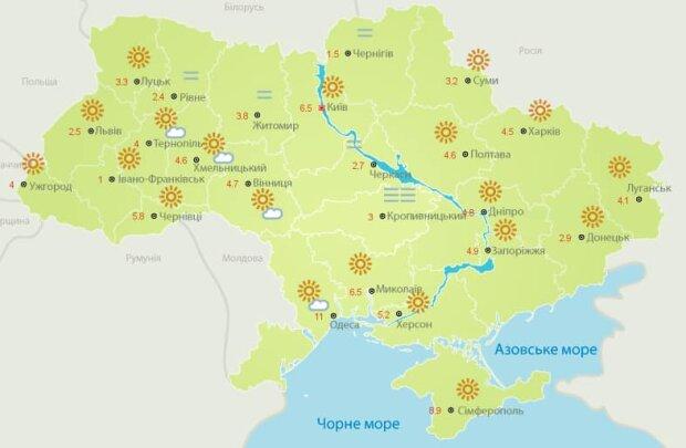 Погода в Україні 7 вересня, фото: Facebook