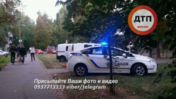 Обнародовано видео с места убийства молодого киевлянина