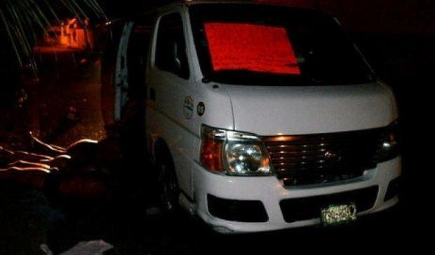 Автобус-призрак с мертвецами нашли в Мексике