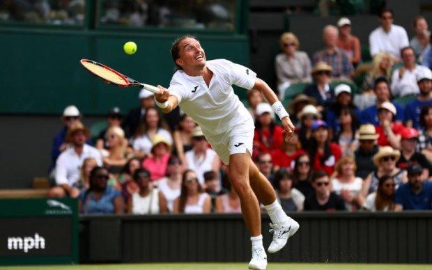 Вімблдон-2017: Український тенісист знявся з матчу проти Федерера