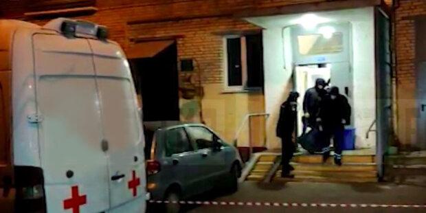 Москвичка задушила своих маленьких детей, фото с места событий росСМИ