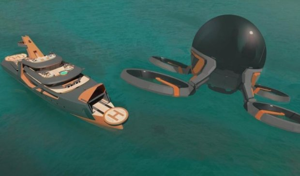 Розробники схрестили яхту з таксі