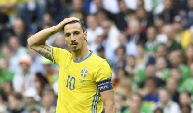 Швеция без единого удара по воротам забила гол