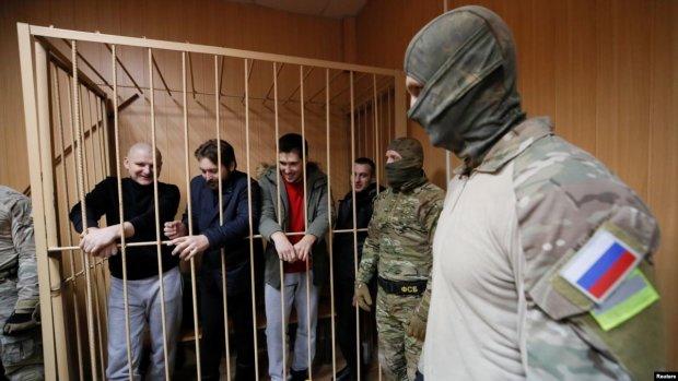 У Росії пред'явили остаточне обвинувачення полоненим українським морякам
