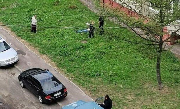 У Львові скорчений труп поставив на вуха все місто - впав зі страшної висоти