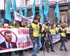 У Києві страйкують залізничники, Газета 2000