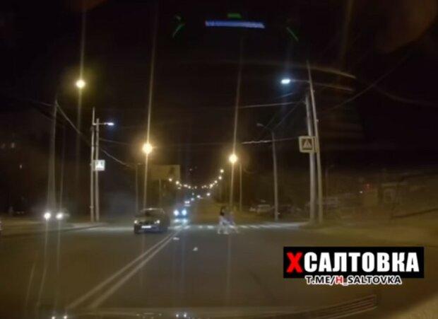 ДТП в Харькове, скриншот из видео