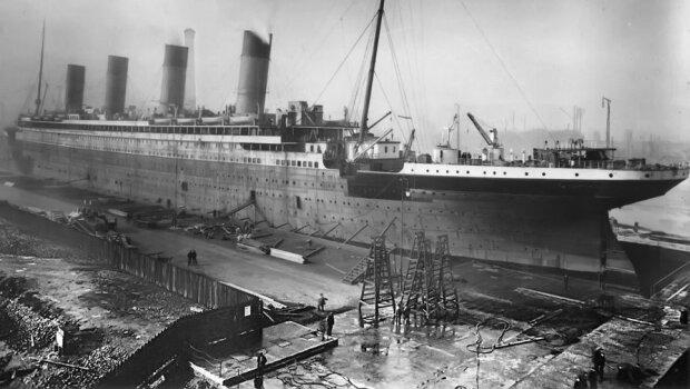 Титаник, фото из свободных источников