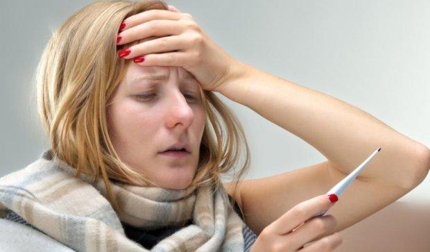 От гриппа умерло 40 украинцев