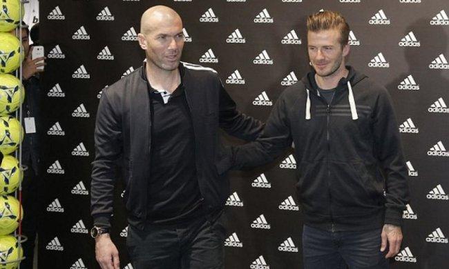 Бекхэм и Зидан сыграют в благотворительном матче звезд футбола
