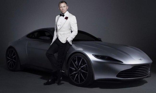 Унікальний Aston Martin Бонда продадуть за $2 млн