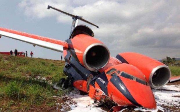 В Африці впав український літак