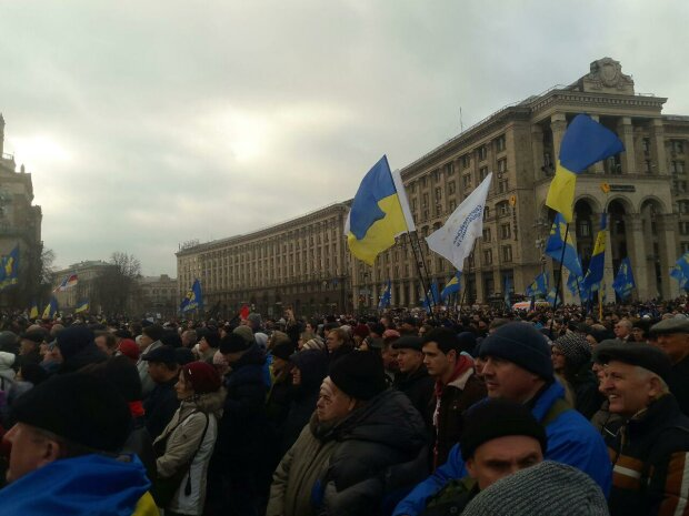 Протест на Майдане, Знай.uа