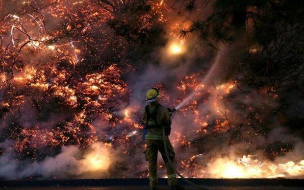 Адский огонь пожирает многострадальный Крым: кричащие кадры