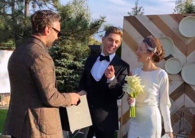 Весілля Остапчука та Горняк, фото: Instagram