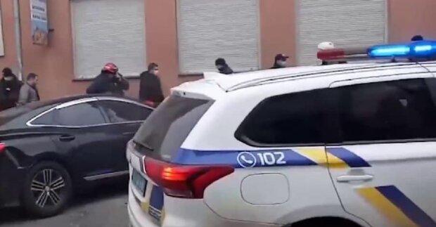 У Франківську спіймали злочинця, кадр з репортажу джедаї: YouTube