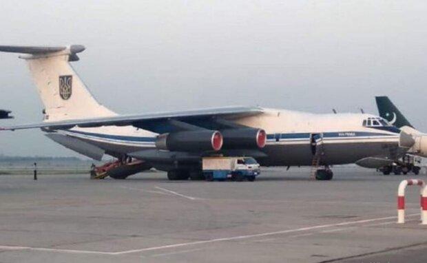 Украинский самолет Ил-76дм