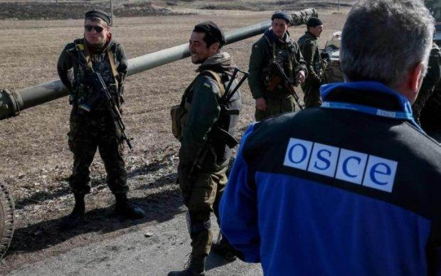 ОБСЄ поскаржилася на бойовиків