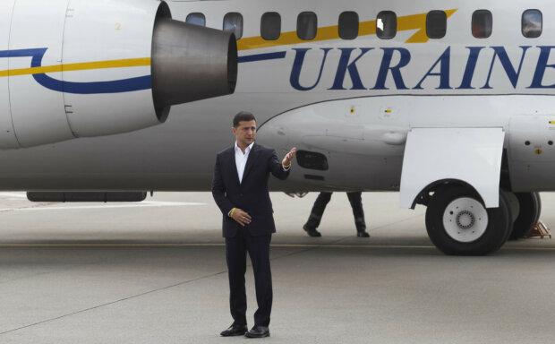 У самолета Зеленского резко отказал двигатель: экстремальные подробности