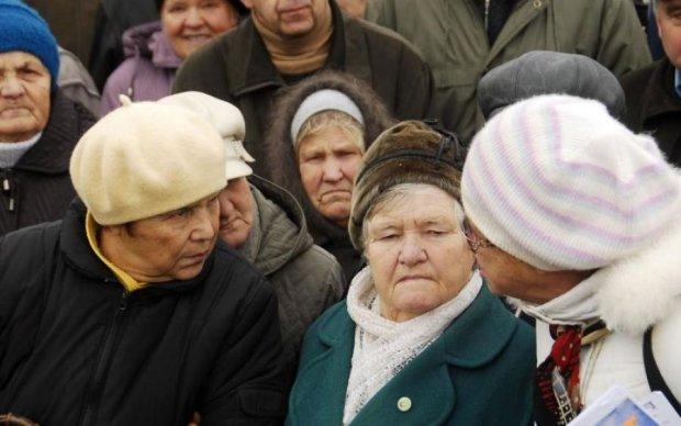 В США потребовали вспомнить об украинских пенсионерах