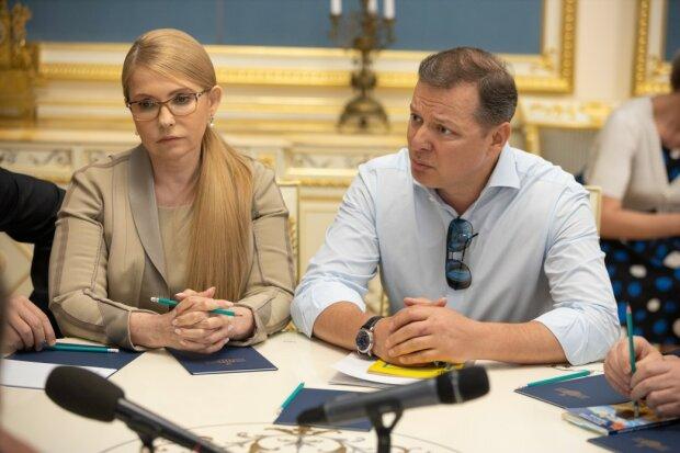 Тимошенко и Ляшко, фото из свободных источников