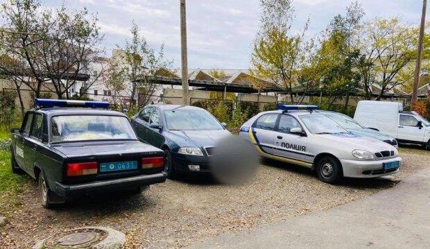 Задержание стрелка, фото: Facebook Полиция Ивано-Франковской области