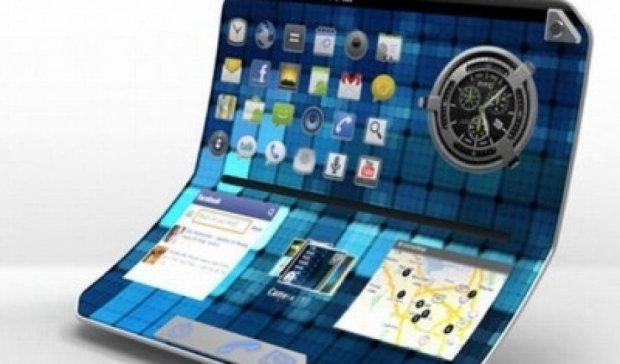 Samsung запатентував новий гнучкий планшет