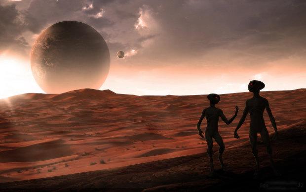 Людство не у своїй тарілці: прибульці помітили стеження, секретну базу марсіан приховали від цікавих очей