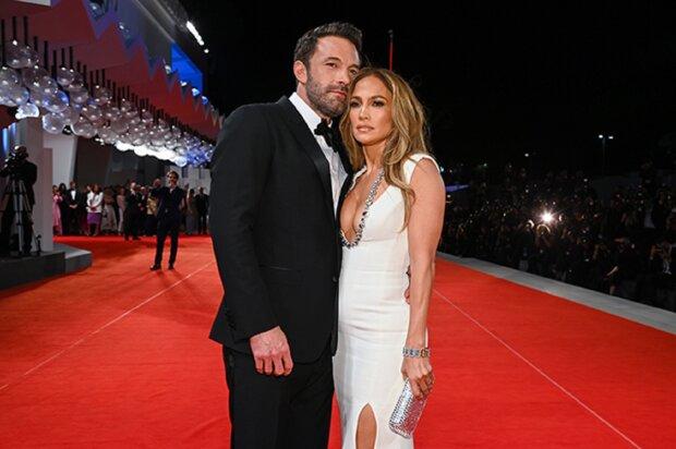 Дженіфер Лопес і Бен Аффлек. Фото: Vogue