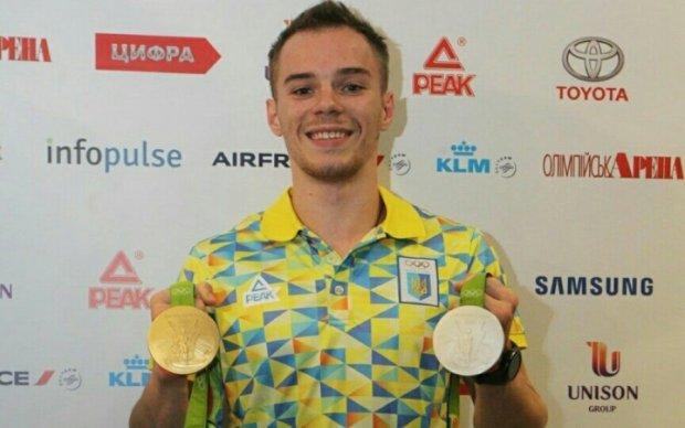 Український гімнаст Верняєв здобув золото і бронзу чемпіонату Європи