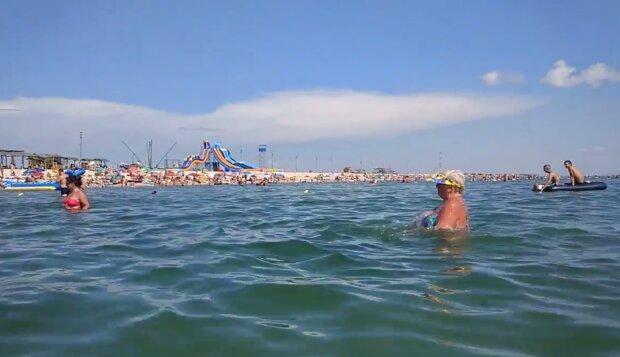 Азовское море, скриншот: YouTube