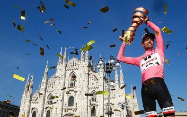 Нідерландський велогонщик виграв престижну багатоденку Джиро д'Італія
