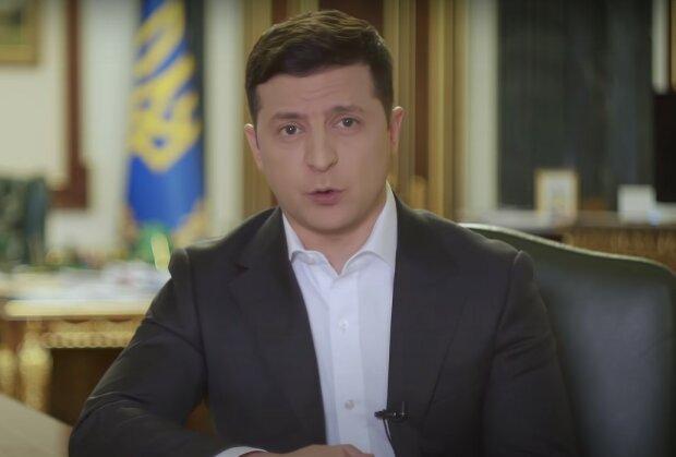 Володимир Зеленский, скріншот з відео