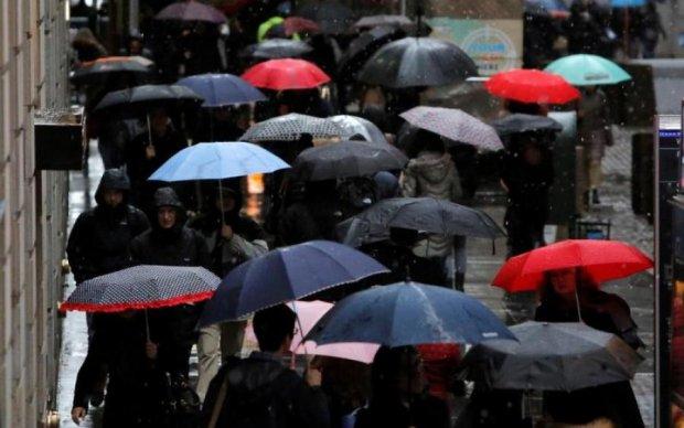 Прогноз погоди на тиждень: де прогримить і заллє
