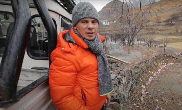 Дмитро Комаров, скріншот з відео