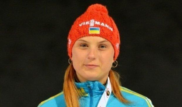 Украинская биатлонистка вошла в двадцатку лучших на чемпионате мира