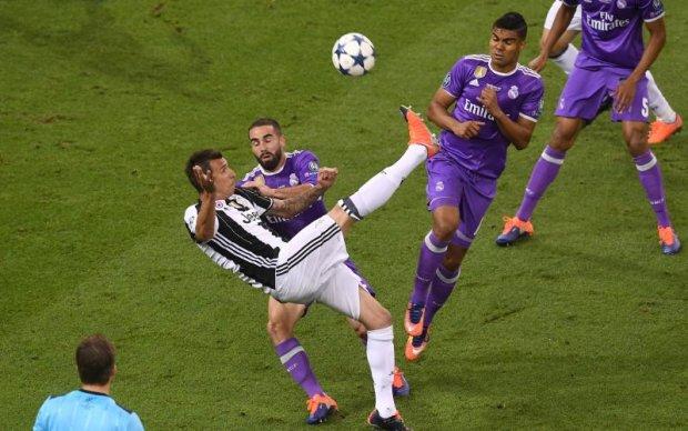 Ювентус - Реал: Відео неймовірного голу туринців у фіналі Ліги чемпіонів