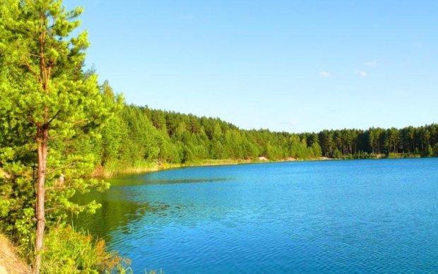 Найчистіші озера і кар'єри України