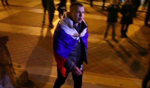 Белорусы на митинге прогнали «русский мир» (видео)