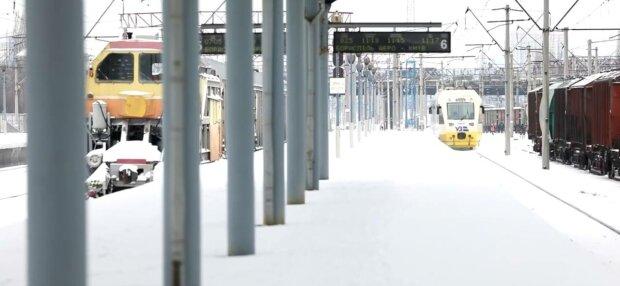 Укрзалізниця, фото: скріншот з відео