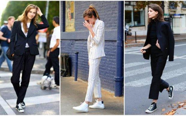 Одеваемся стильно: как сочетается классика и спорт