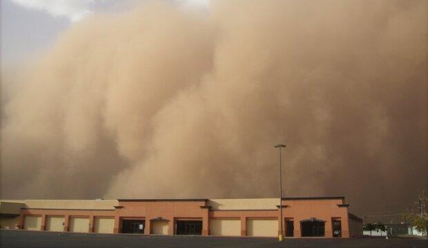 піщана буря, фото Pxhere