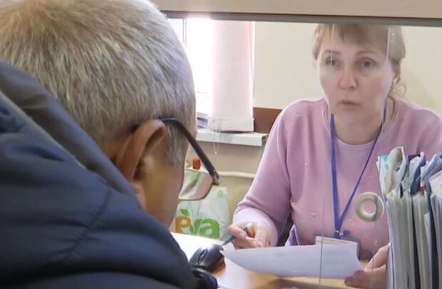 Оформлення субсидій, кадр з відео