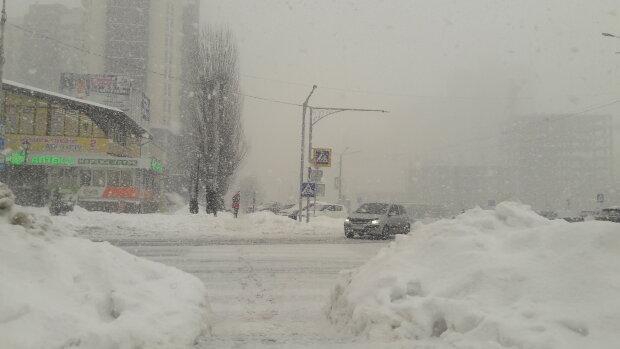 Cнігопад, зима - фото Знай.ua