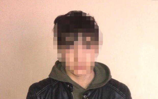 Подростки избили участника АТО, фото: zk.npu.gov.ua