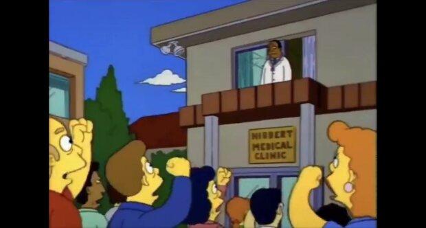 The Simpsons // кадр з мультсеріалу