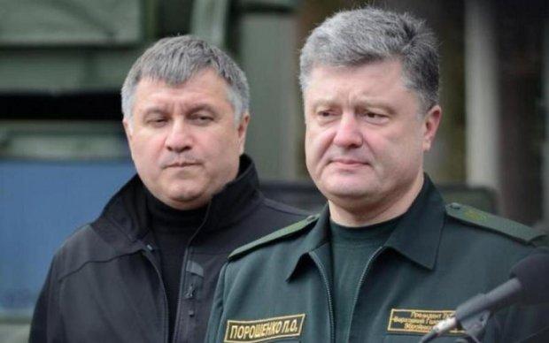 Встал и вышел: дерзкая выходка Авакова привела в бешенство Порошенко