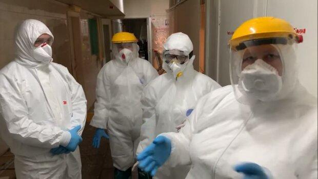 коронавирус в Украине, скриншот с видео