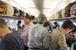 В самолете, фото: youtube