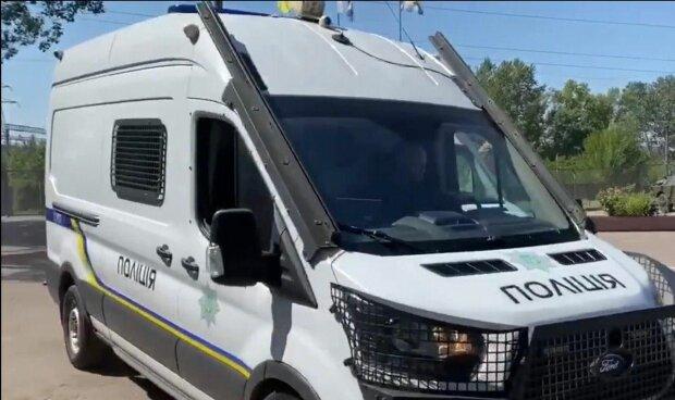 Поліція, фото: скріншот з відео